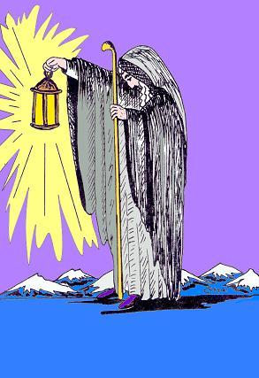 Einsiedler, Tarot der Weisen Frauen